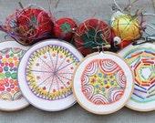 6 Month Color Burst Embroidery Sampler Subscription