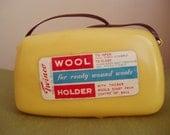 Genuine Vintage Wool Holder