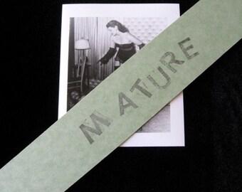 "Bettie Page Vintage Fifties Photo Two Women 7503 Bondage Leopard Bra and Panties 4 1/8"" x 4 5/8"""
