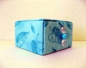 jewelry storage box, keepsakes box or decorative storage box in turquoise