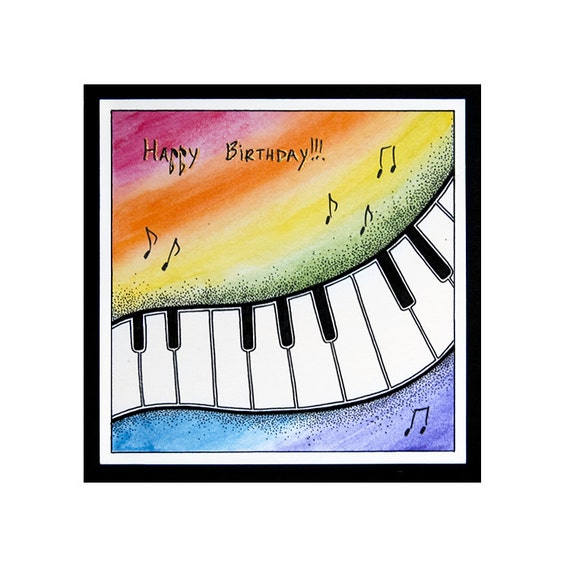 Piano (Happy Birthday)