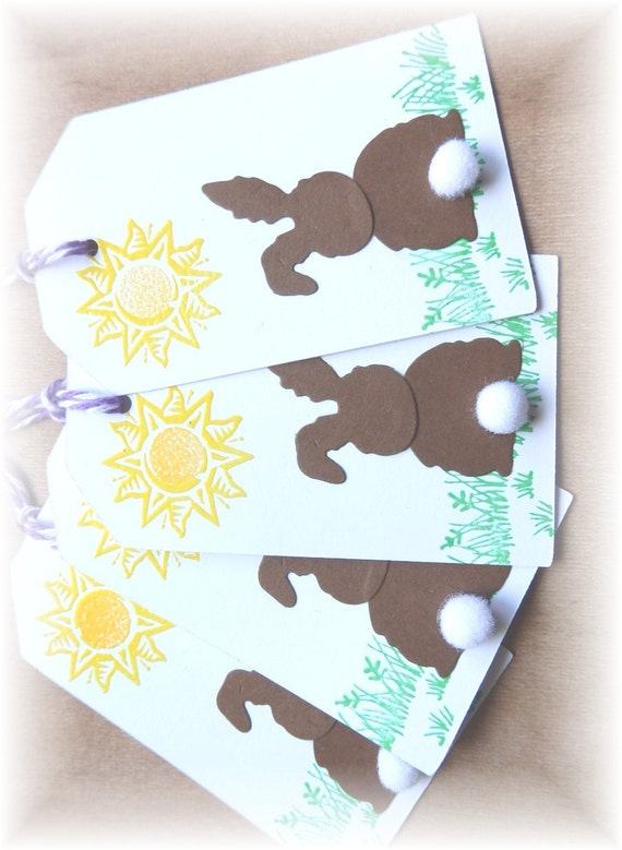 Bunny Tag - Bunny Butts Easter Tags (8)