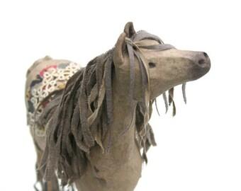 Stick Leg Horse - Delia