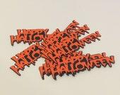 Happy Halloween Die Cuts Set of 10