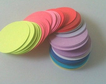 Circles 12 -3 inches Pick You Colors