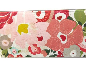 CHECKBOOK COVER - Blooming Garden