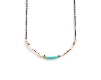 Capitola Necklace : Mint