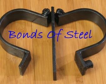 Ankle Cuffs Restraint Bonds of Steel Mature BDSM