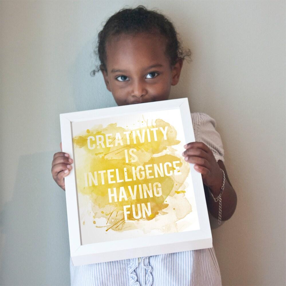 Printable 11x14 Creativity