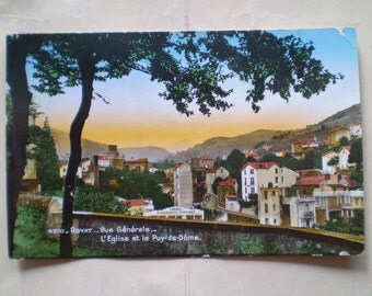 Royat - 1938 - Puy de Dome - Vintage French Postcard