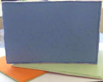 Double Sided Flannel Board-Pastel Pink and Blue