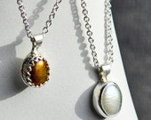 Classic Pearl drop Necklace