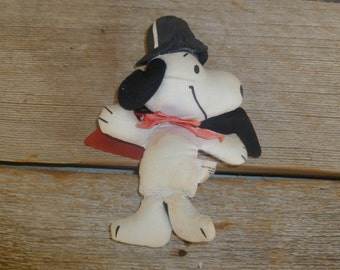 Snoopy Magician Cloth Doll Peanuts Charlie Brown