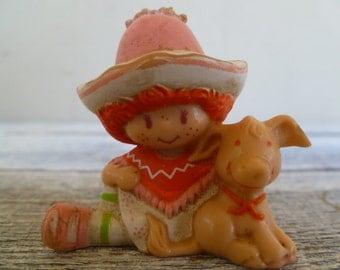 Strawberry Shortcake Cafe Ole' and Burrito Miniature Vintage