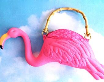 Pink Flamingo Purse