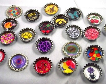 Bottlecap Necklace- Use Your Imagination