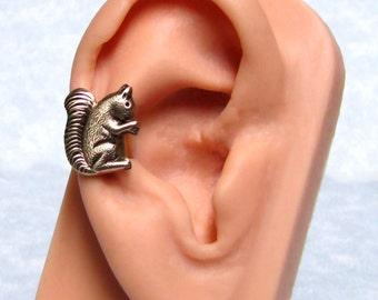 Cute Squirrel Ear cuff