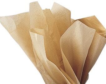 KRAFT tissue paper 20 sheets of 15 x 20 Holiday tissue paper, wrapping paper, tissue, gift wrap, tissue paper, gift tissue,