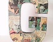 Medium Comic Letter Custom Made 8 Inch, Monogram, Initial