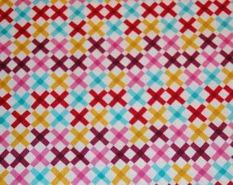 Moda Domestic Bliss by Liz Scott, Multi-Criss Cross, Quilting fabric, Sewing, Vintage-look, Modern, Craft