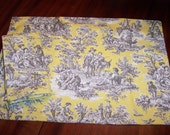 Custom Placemat Set of 4 Waverly Rustic Life Toile