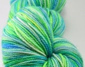 Hand Dyed Superwash Merino/Nylon/Twinkle/Sparkle Sock Yarn