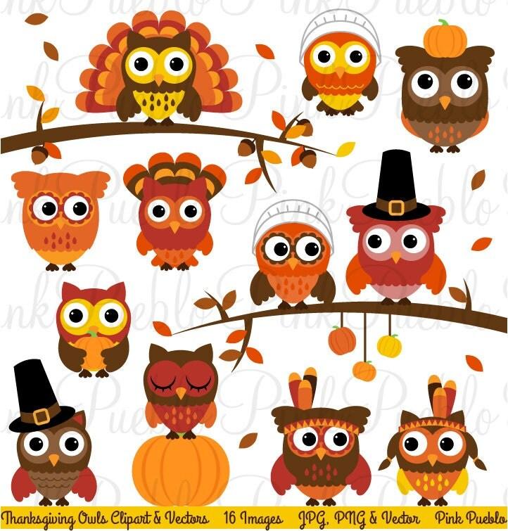Decorating Ideas > Thanksgiving Owl Clipart Clip Art Happy Thanksgiving O ~ 065415_Thanksgiving Decorations Clipart