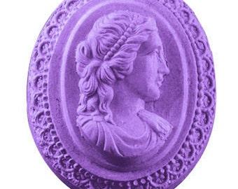 CAMEO Guest Soap Bar Handmade Glycerin Elegant Novelty - U Pick Color & Scent