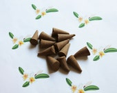 Gardenia Scented Cone Incense - Incense Cones - Aromatherapy - Aroma - Essense - Home Decor - Gift for Adults