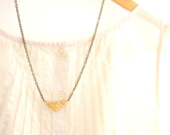 Minimalistic Necklace, Chevron Necklace, Geometric Necklace, Art Deco Necklace