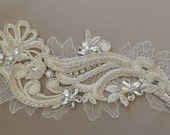 Ivory Venice Lace Comb