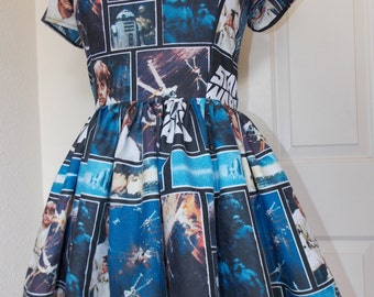 Custom Made to Order Star Wars Sweet Heart Dress