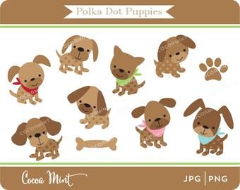 Polka Dot Puppies