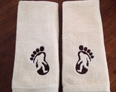 Sasquatch Hand Towel Set