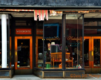 Photograph Woolworth Vintage Bisbee Arizona store front fine art unmatted