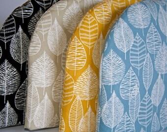 "Tea Cozy (Standard) - Organic ""Line Leaf"" Canvas, Bark and Branch"