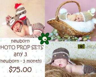 SALE! Three Newborn Sets