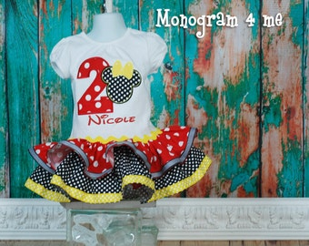Minnie Mouse Birthday Dress, 1st Birthday Minnie mouse, 2nd birthday