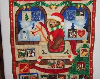 CIJ Coupon - Christmas Advent Calendar - Rocking Teddy Bear