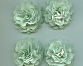 Light Mint Carnation Paper Flowers for Weddings, Bouquets, Events and Crafts
