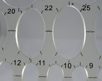 Ellipse Template--27 Sizes