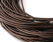 LRD0110051) 1 meter of 1.0mm Tamba Metallic Round Leather Cord