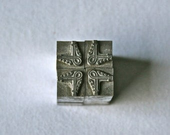 Vintage Letterpress Ornament Corners or Fleurons for Printing Stamping and Decor