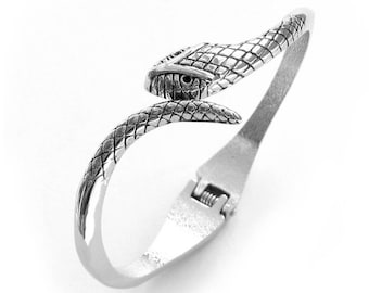 Stunning Design Tribal Alloy Metal Snake Bangle Bracelet  T0009