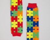 Puzzle   Legwarmers *FREE SHIPPING*