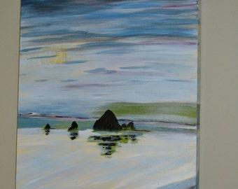 Cannon Beach Original Painting Oregon Coast