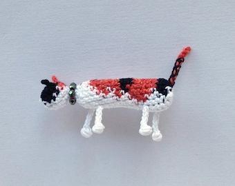 Custom Cat - Brooch, Pet Portrait, Cat Jewelry