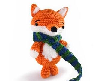 Jean the fox - amigurumi pattern (eng)
