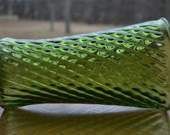 Green Diamond Pattern Vase