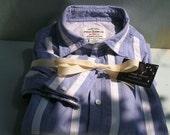 Vintage -  English Style-Men's Cricket Shirt- All Cotton-Ralph Lauren -Size L